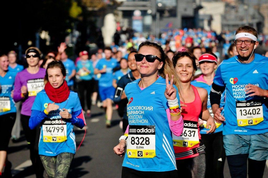 Около 3 000 спортсменов примут участие в забеге в центре Москвы
