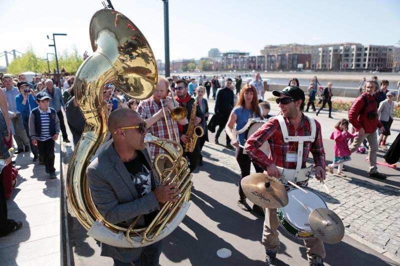 В Москве пройдет III Международный «Фестиваль шагающих оркестров»
