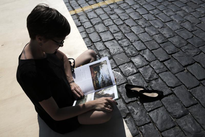 Сад «Эрмитаж» спасет литературу
