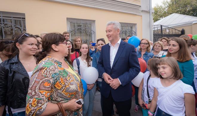 Собянин: Замоскворечье получило новую пешеходную зону