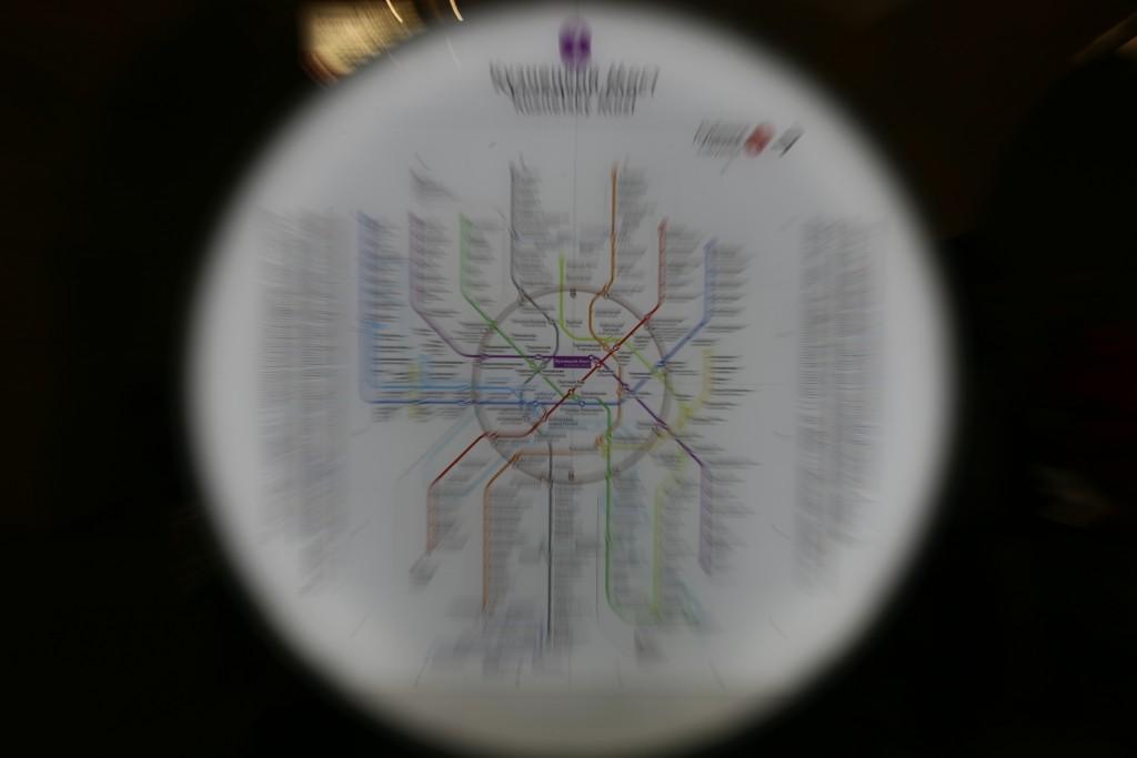 Схемы линий в вагонах столичного метрополитена увеличатся в размерах