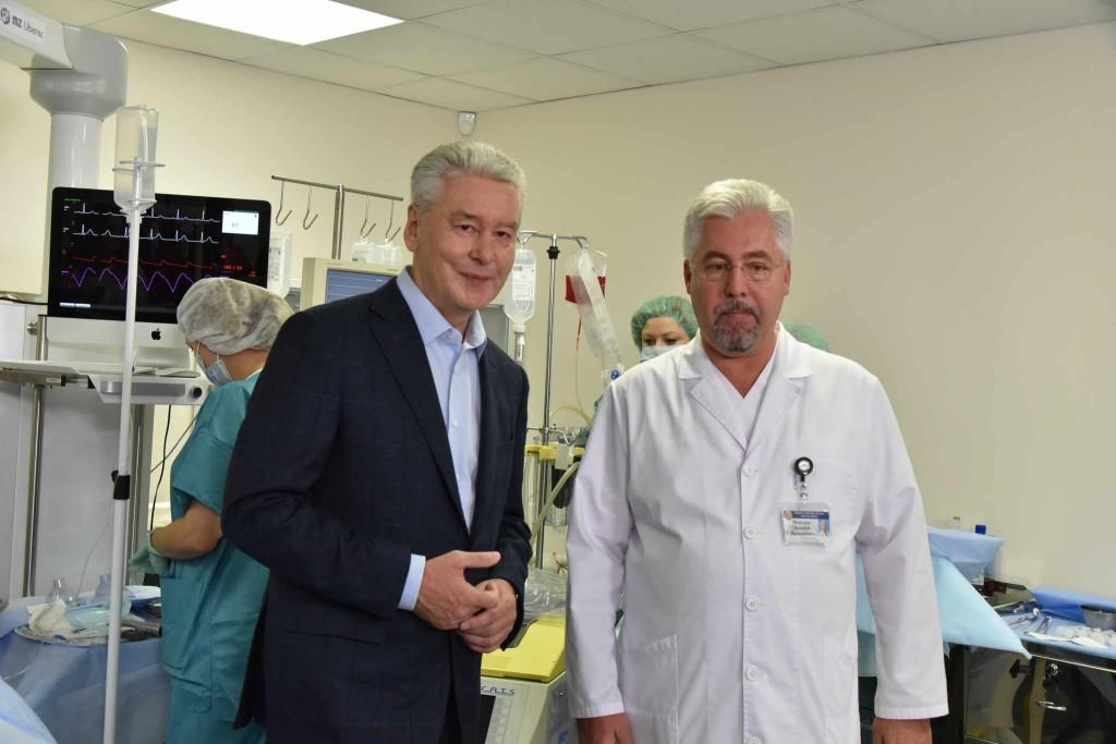 Собянин открыл лучший в Европе центр повышения квалификации врачей