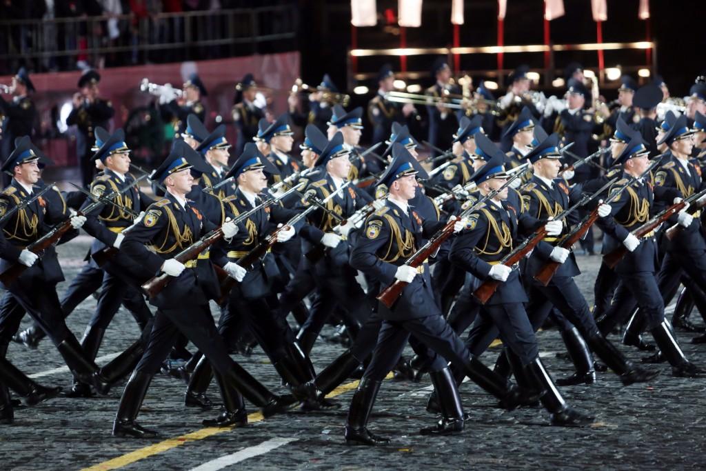 «Активные граждане» посетят военный парад на Красной площади