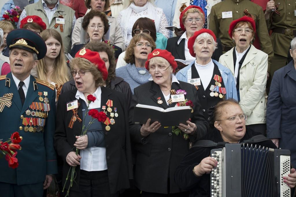 Академический хор ветеранов войны отметил юбилей