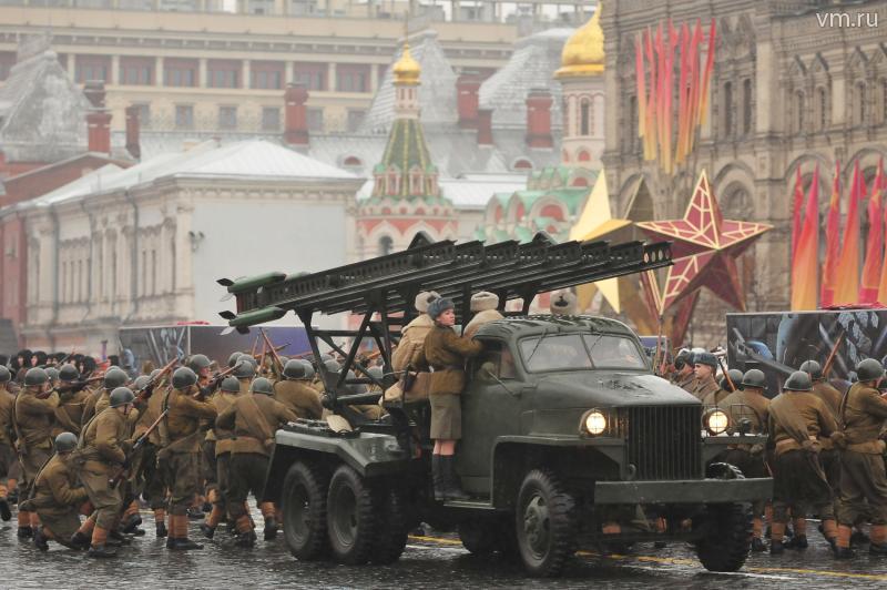 Москва отметит годовщину легендарного парада 1941 года