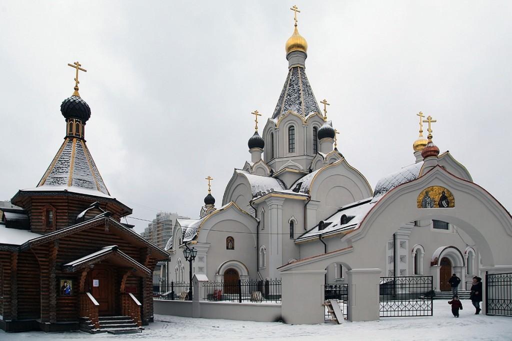 Освящен первый храм по программе строительства 200 святынь в Москве