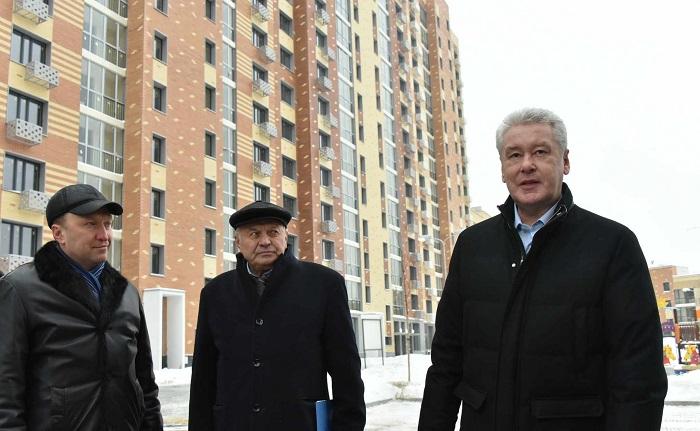 Собянин: Москва обеспечила рекордные объемы строительства жилья
