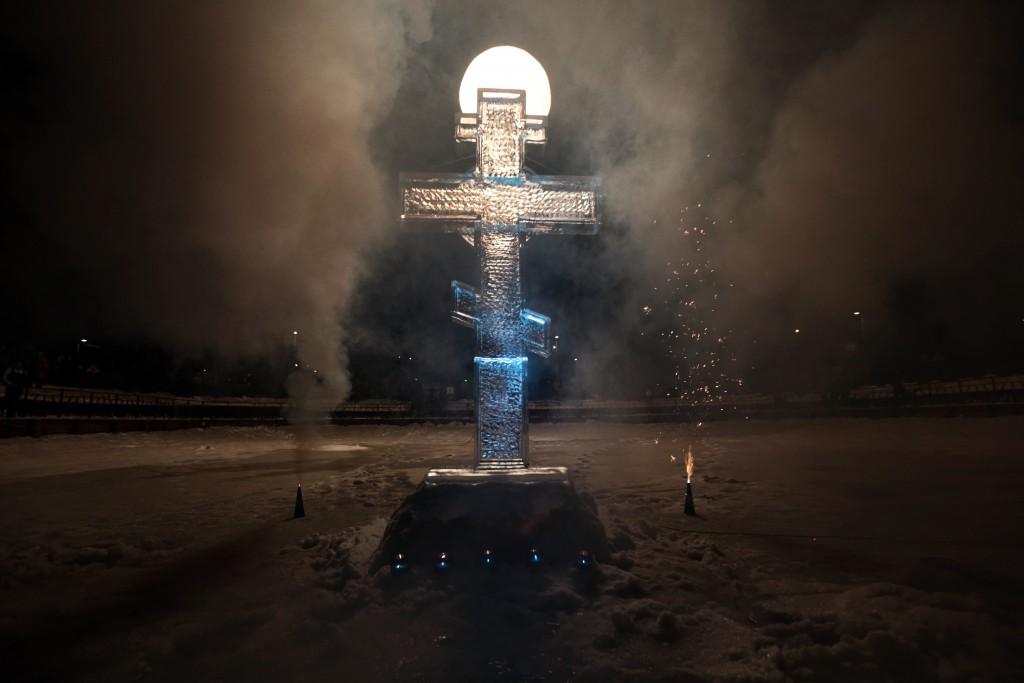 В центре Москвы пройдут крещенские купания
