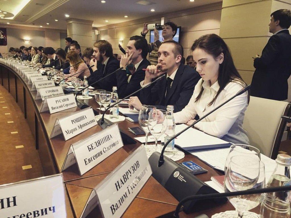 В столице прошло первое заседание Молодежной палаты при Мосгордуме