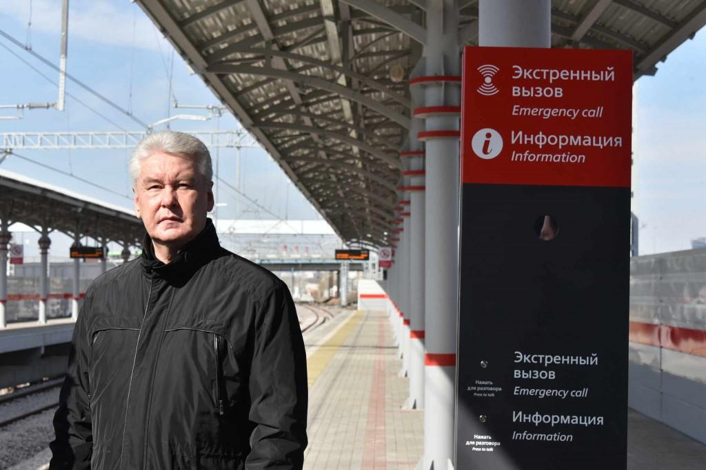 Собянин: Реконструкция МКЖД вышла на завершающую стадию