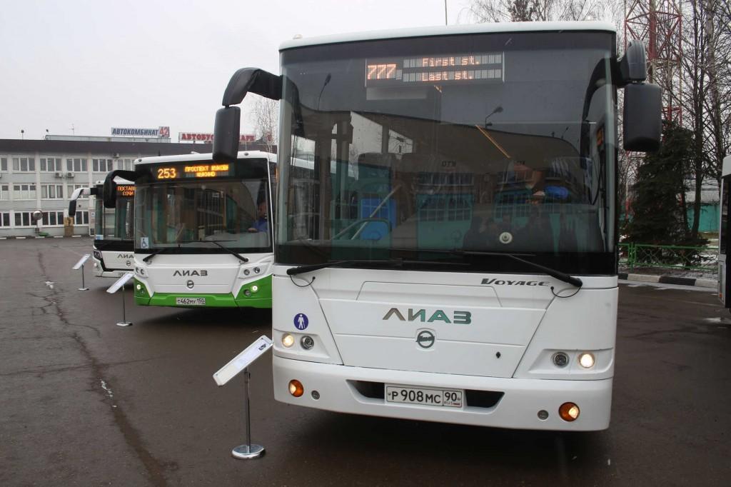 Маршруты автобусов изменятся из-за реконструкции Аминьевского шоссе