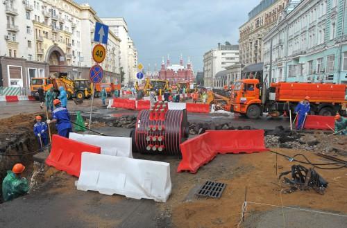 На время ремонта Тверской изменятся маршруты автобусов