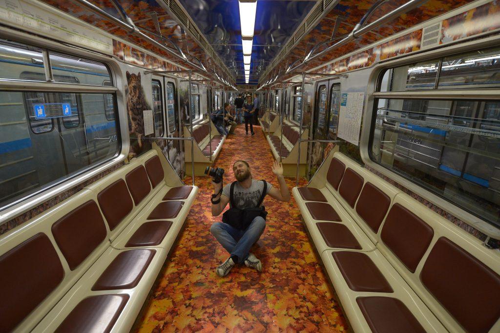 Московский метрополитен посвятит поезд тиграм и леопардам
