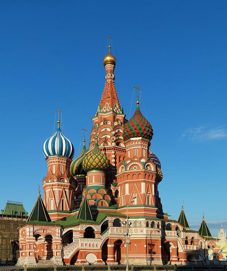 Дата дня: 455 лет назад завершено строительство Собора Василия Блаженного