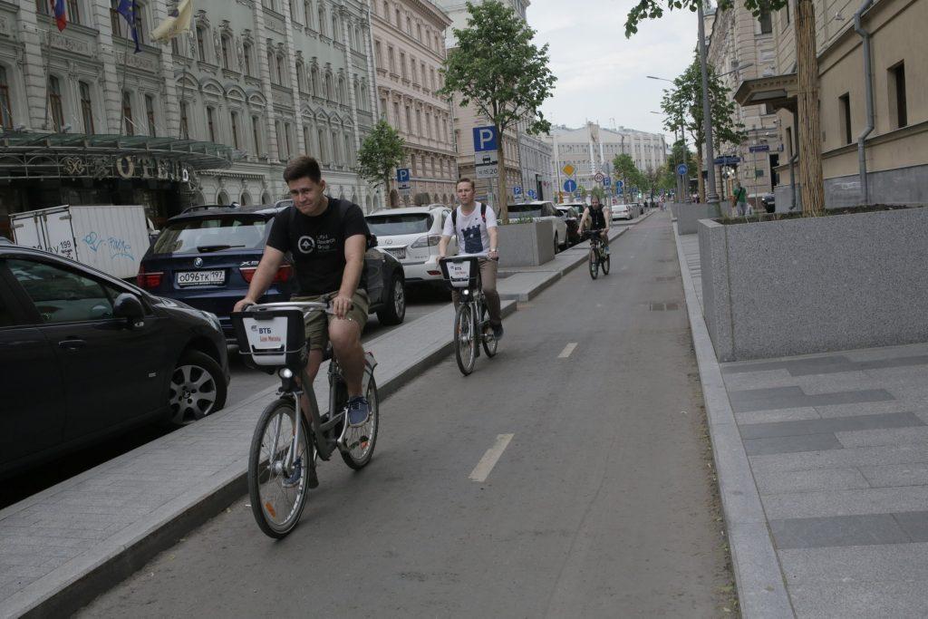 Куда ведет велодорожка