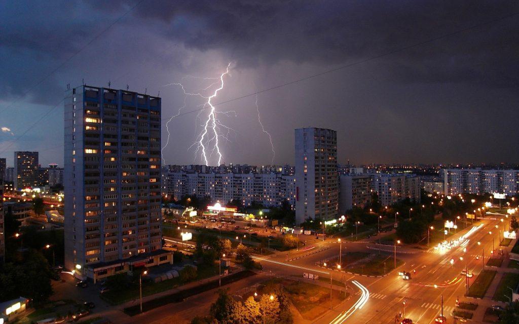 Как избежать удара молнии