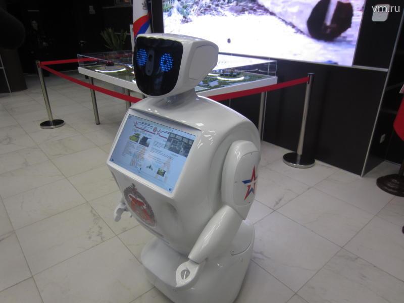 Туристические маршруты в центре Москвы будут обсуживать роботы-экскурсоводы