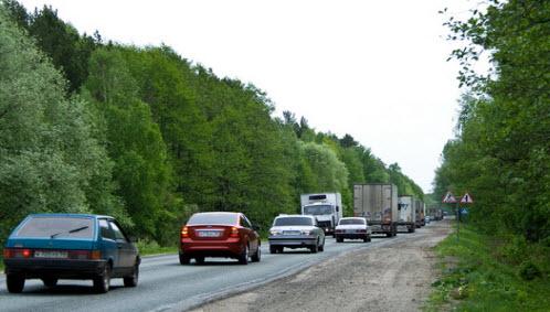 При аварии на автотранспорте