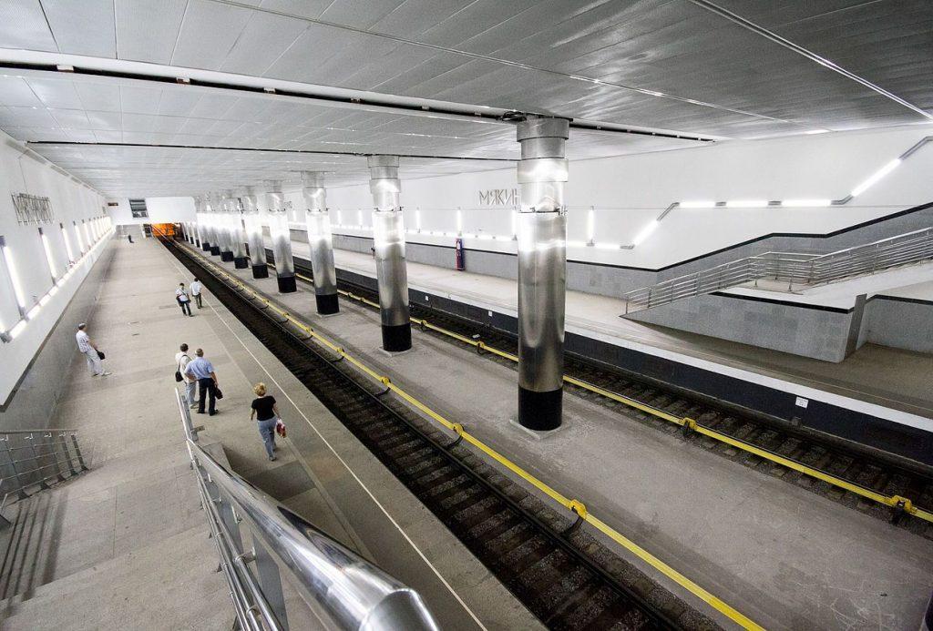 Станцию метро «Мякинино» закроют 22 августа