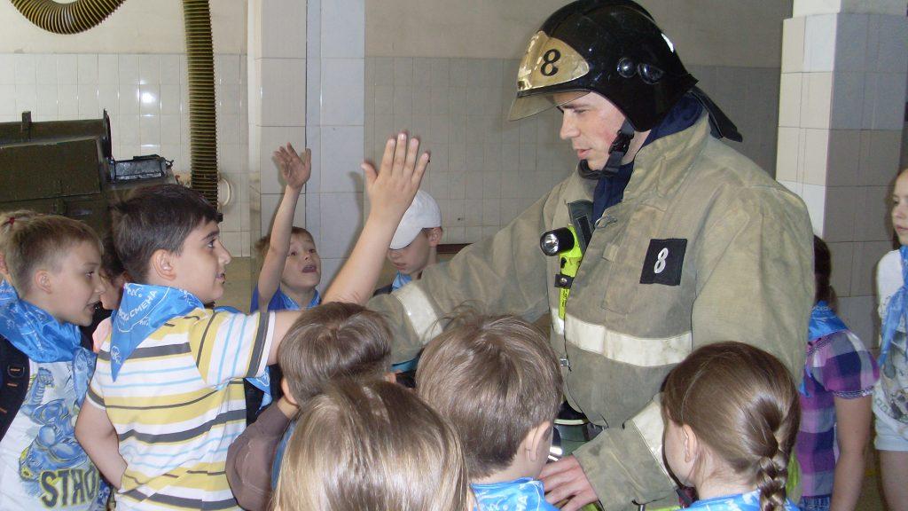 Пожарная безопасность в быту детьми в период летних каникул