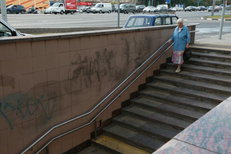 В этом году в Москве построят еще пять пешеходных переходов
