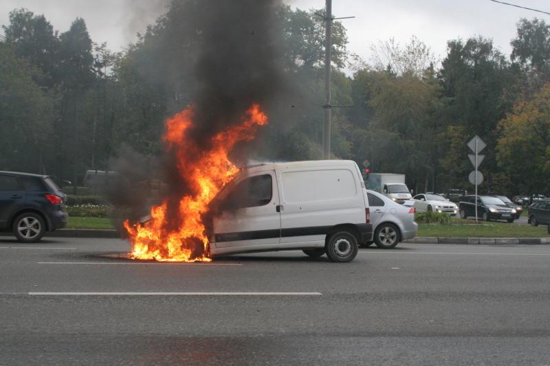 Что такое пожар в автомобиле…