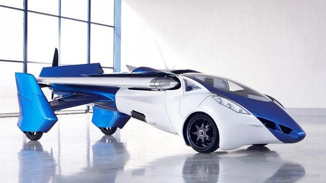Продажи первого летающего автомобиля стартуют в 2017 году
