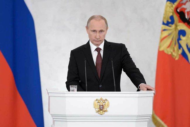 Владимир Путин: «Борьба с коррупцией - это не шоу»