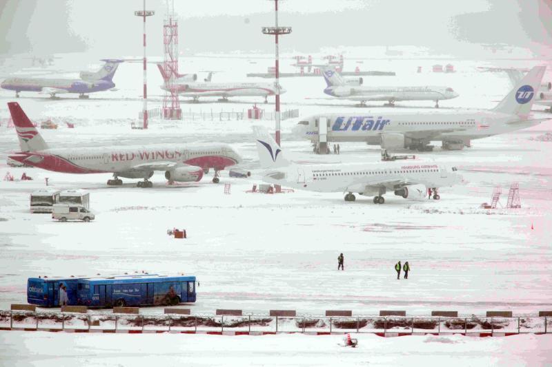 Число задержанных рейсов в столице выросло до 20