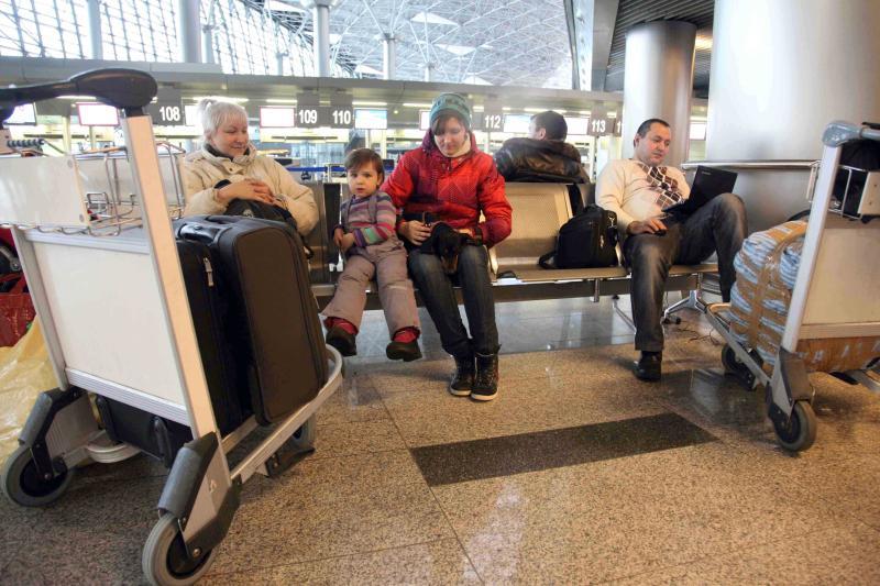 Московские аэропорты отменили и задержали 20 рейсов