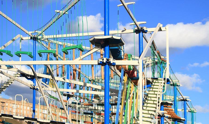 «Веревочный город» откроется в Парке Победы уже 16 апреля