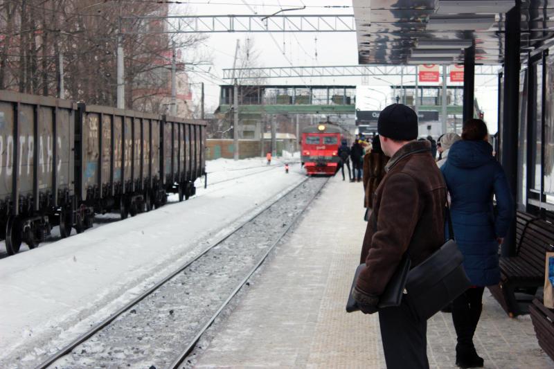 Поезд сбил человека на  северо-востоке Москвы