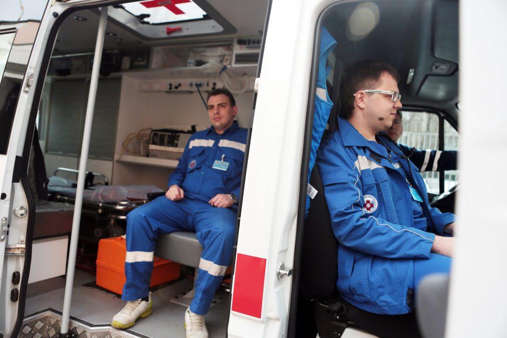 «Кареты скорой помощи» в Москве получат QR-коды