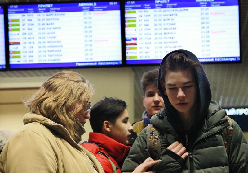 В аэропортах Москвы задержаны и отменены свыше 40 рейсов