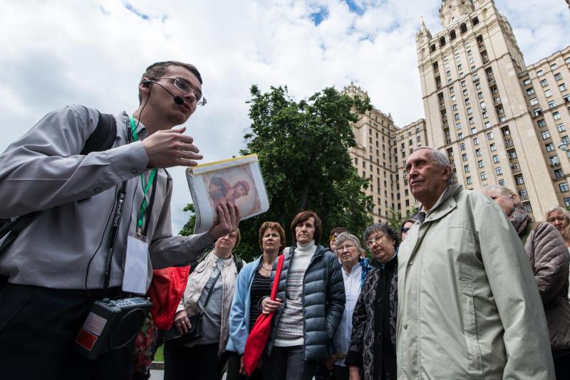 Более сотни бесплатных экскурсий проведут в дни фестиваля «Московское лето»