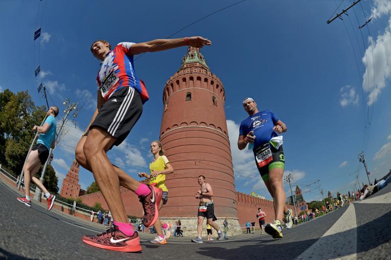 Московский марафон может собрать свыше 30 тысяч участников