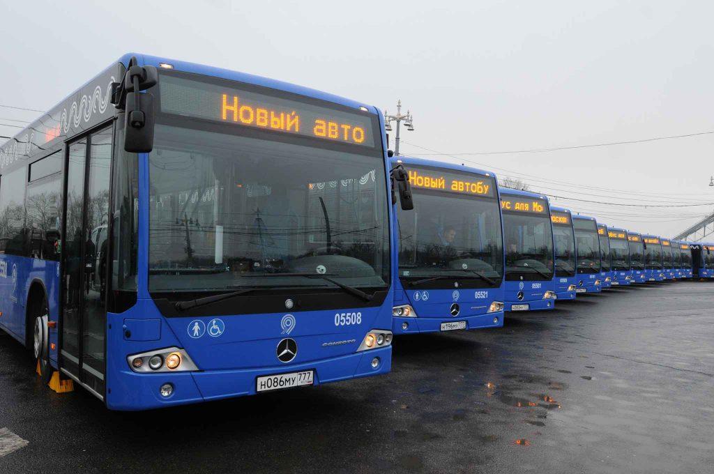 Свыше 60 маршрутов автобусов обновят 7 октября