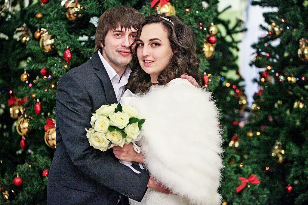 Более 40 свадеб сыграют в Москве на Новый год