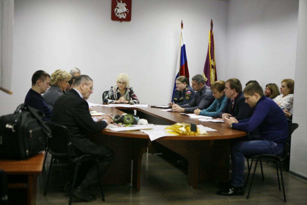 В Управе района Якиманка прошла штабная тренировка