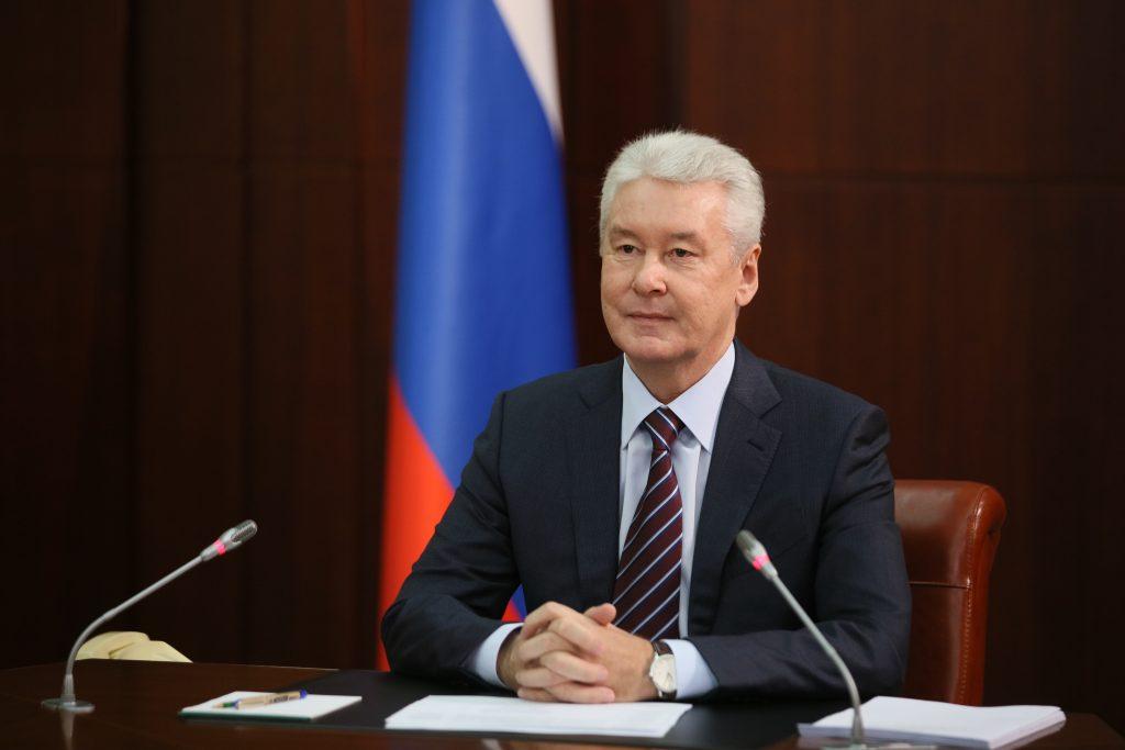 Сергей Собянин поздравил горожан с наступающим 2018 годом