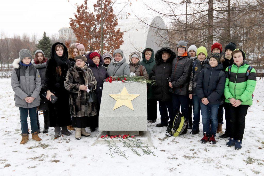 Годовщине Битвы под Москвой посвятили мероприятие в Екатерининском парке