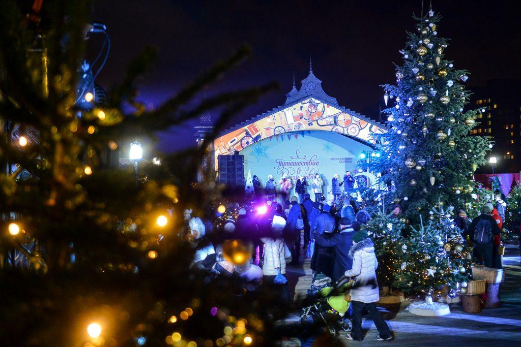 Новогодние мероприятия в Москве посетили более 10,5 млн человек