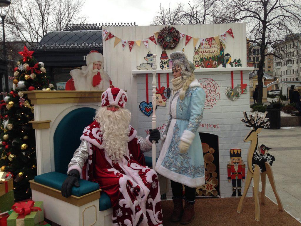 Фестиваль «Путешествие в Рождество»: исторические квесты на Смоленской площади