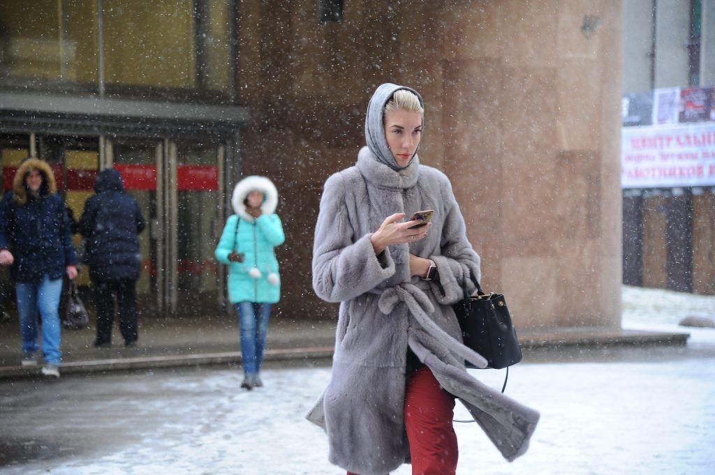 москва зимой фото в чем одеты люди средней