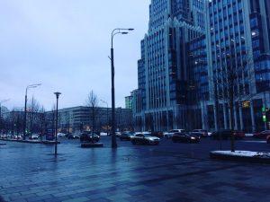 Тротуары стали просторнее в среднем на десять метров. Фото: Мария Иванова, «Вечерняя Москва»