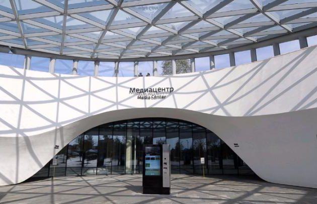 Парк «Зарядье» получил премию Building of the Year