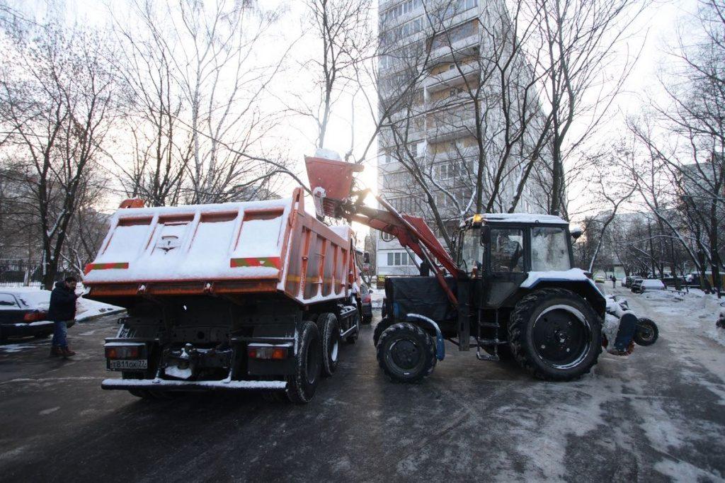 Уборку дорог после зимы организуют в районе Якиманка