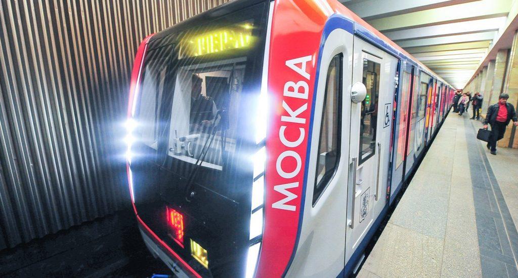 Фиолетовую ветку метро полностью переведут на поезда «Москва»