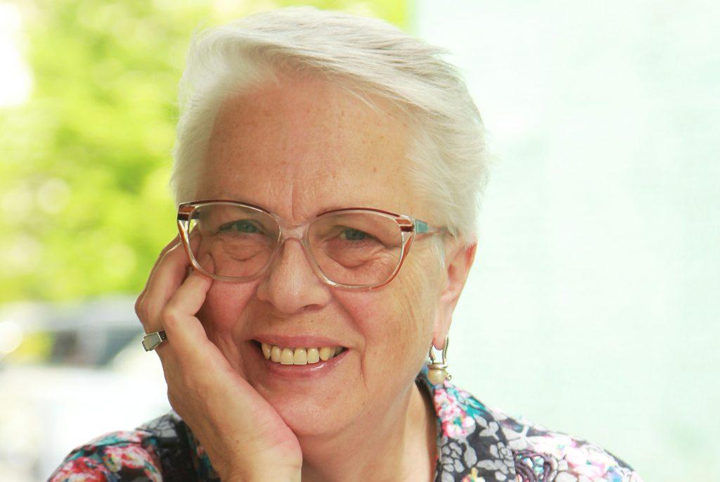 Пенсионерка Ольга Могуева