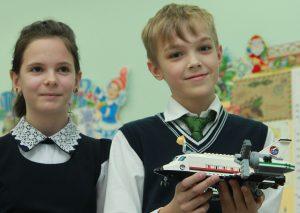 Ученик школы № 2030 Тимофей Морин. Фото: Наталия Нечаева, «Вечерняя Москва»